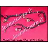 Honda 650 CB de 1979 à 1982...