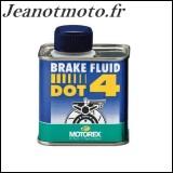 Liquide d'embrayage DOT 4...