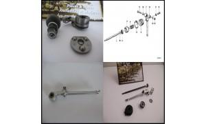 Biellettes d'embrayage / Butées / Commandes / Tiges poussoir / Clutch lever