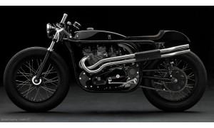Selles dosserets neuves pour Café-Racer et autres motos coursifiées.