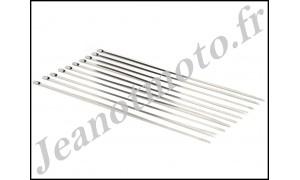 Colliers neufs de serrage Inox pour Bandes Thermiques.