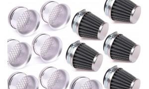 Cornets de filtre à air neufs