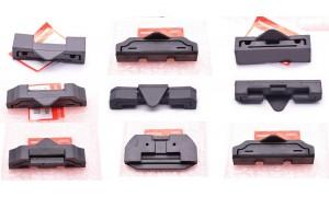 Caoutchoucs Silentblocs arrières de maintien des réservoirs classés par marques.