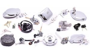 Neimans / Contacteurs à clés / kits de sérrures / Verrouillages de selle / Bouchons de réservoirs