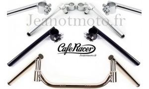 Demi-guidons neufs et guidons neufs pour Café-Racer et autres motos.