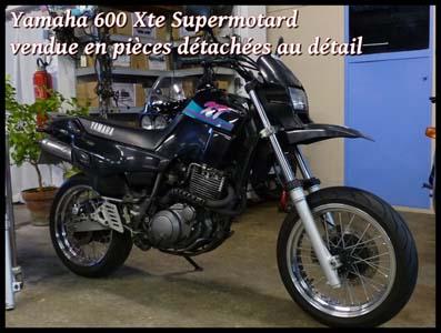 yamaha 600 xte supermotard